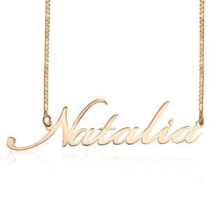 Wisiorek z imieniem-Natalia