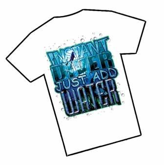 T-Shirt Instant Diver - Amphibious Outfitters