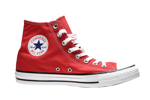 czerwony sneakersy converse