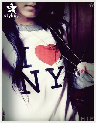 T-shirt z I ♥ NY