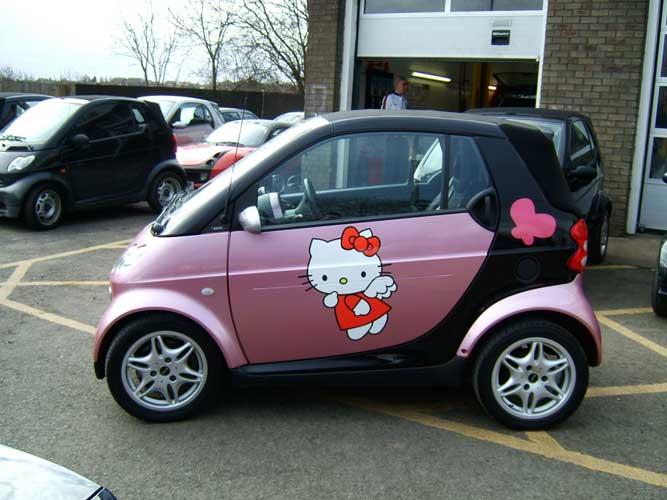 Fajniusi samochodzik Hello Kitty