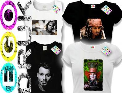 Koszulka Damska L JOHNNY DEPP Piraci Z Karaibów