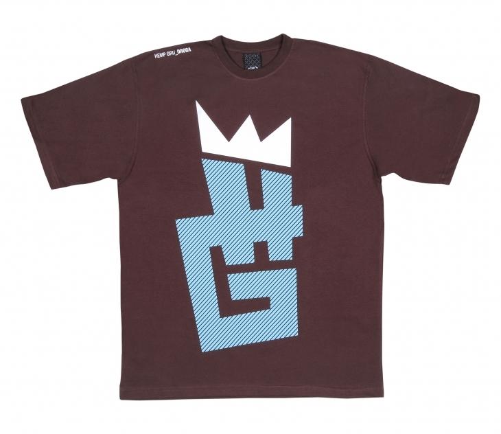 T-shirt Hemp Gru Korona