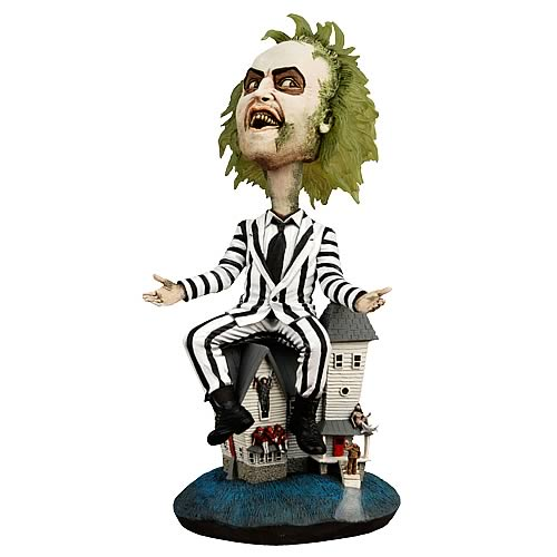 Beetlejuice Headknocker New Neca Figure head knocker
