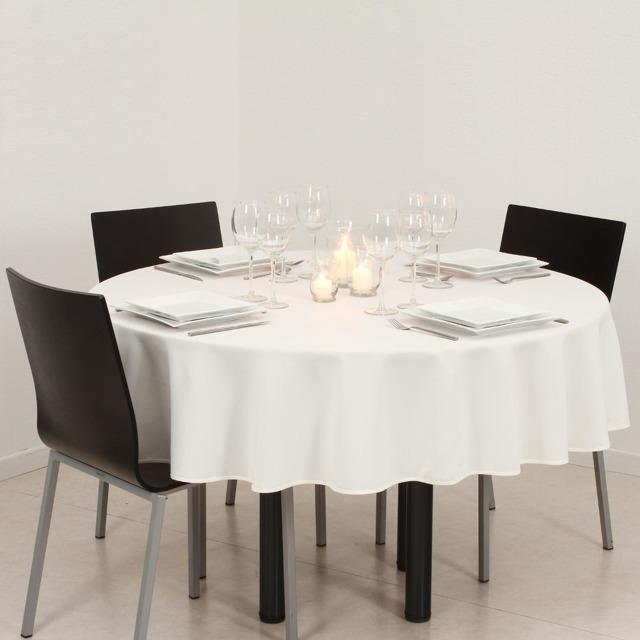 obrus na okrągły stół