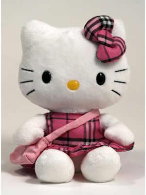 słodka maskotka hello kity!!!