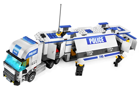 Lego Ciężarówka Policyjna