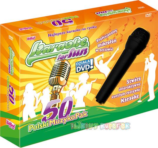 karaoke z mikrofonem .