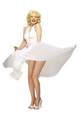 sukienka Marylin Monroe