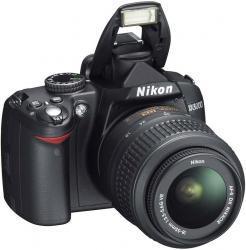 Nikon D3000 + ob. 18-55 VR,10 mpix