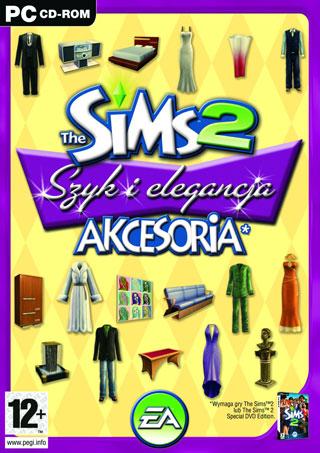 Sims 2 akcesoria: Szyk i elegancja