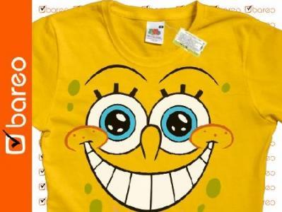 Koszulka SPONGE BOB Spongebob HIT !!! F02 ASA M
