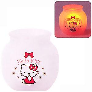 pojemnik na świeczkę z hello kitty