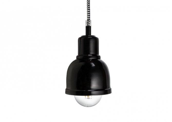 Lampa ByLight Punk Czarny + kabel czarny
