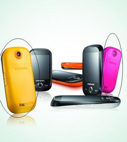Samsung Corby różowy lub żółty