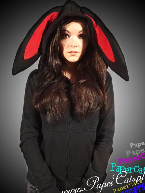 Bluza Bunny-Black :: PaperCats
