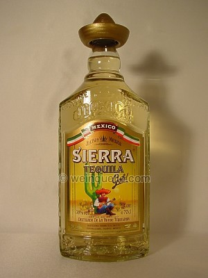 Tequila Sierra Gold Reposado