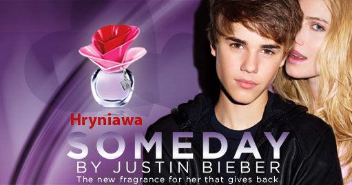 Perfum Justina Biebera Someday + balsam i żel