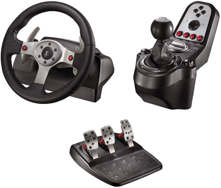 LOGITECH G25 Wheel kierownica PC