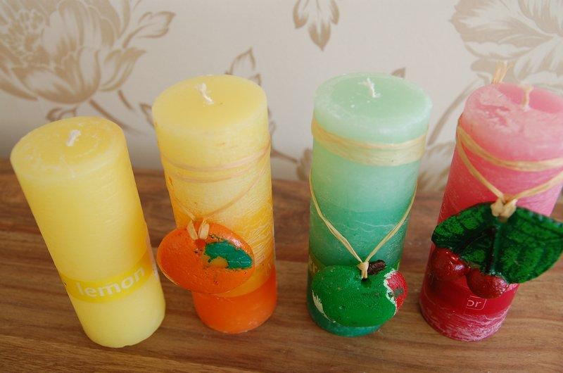Zapachowe świeczki z