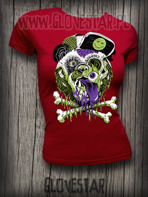 T-shirt Miś Panda blood: Glovestar