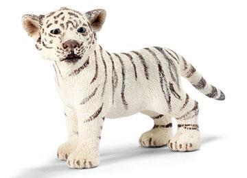 Schleich tygrysiątko białe