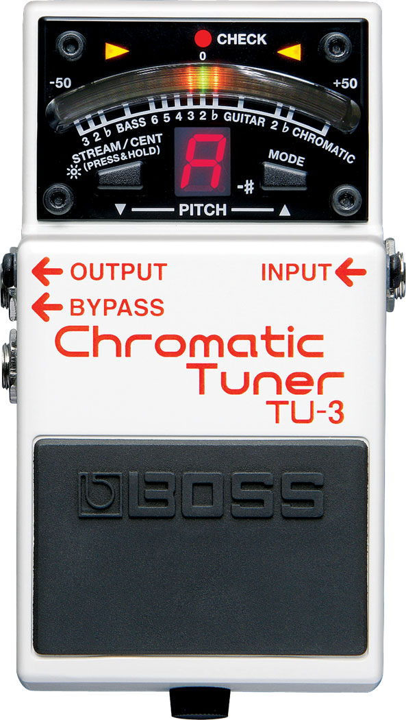 Boss TU-3: Chromatic Tuner