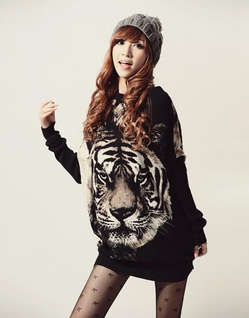 Bluzka tunika Tygrys Japan Style