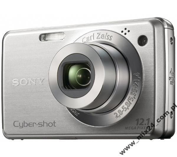Aparat cyfrowy Sony DSC-W210 Srebrny
