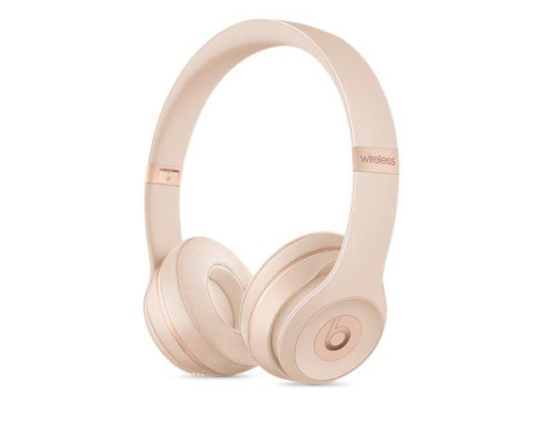 Słuchawki bezprzewodowe BEATS Solo3 Wireless (MR3Y2EE/A) Złoty matowy