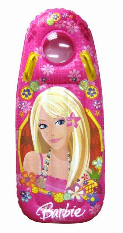 dmuchany materac barbie