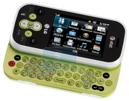 Zielony LG KS360