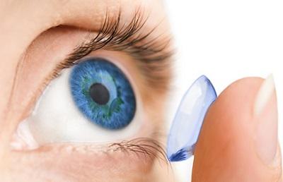 Soczewki powiększające oczy