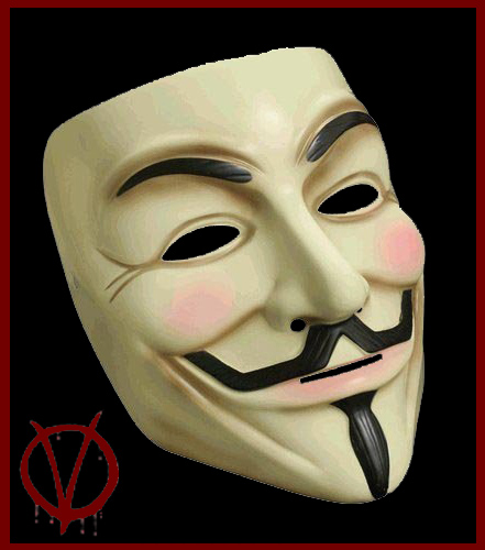 V FOR VENDETTA Official Licensed Guy Fawkes MASK