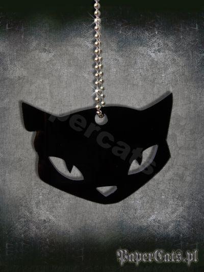 naszyjnik czarny kot