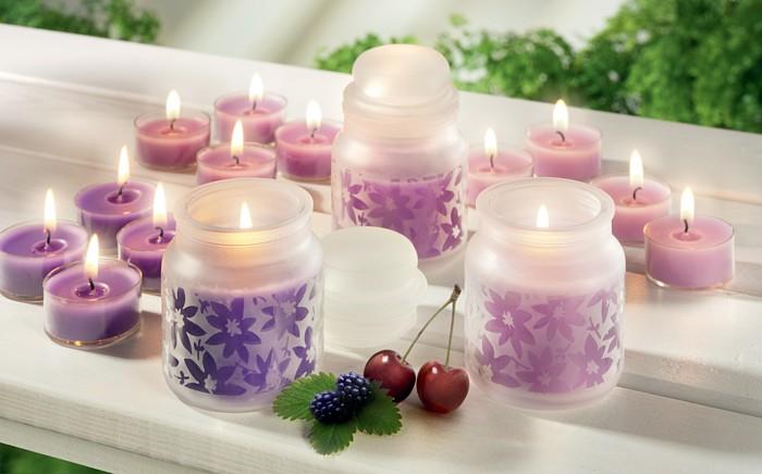 Świeczki do pokoju