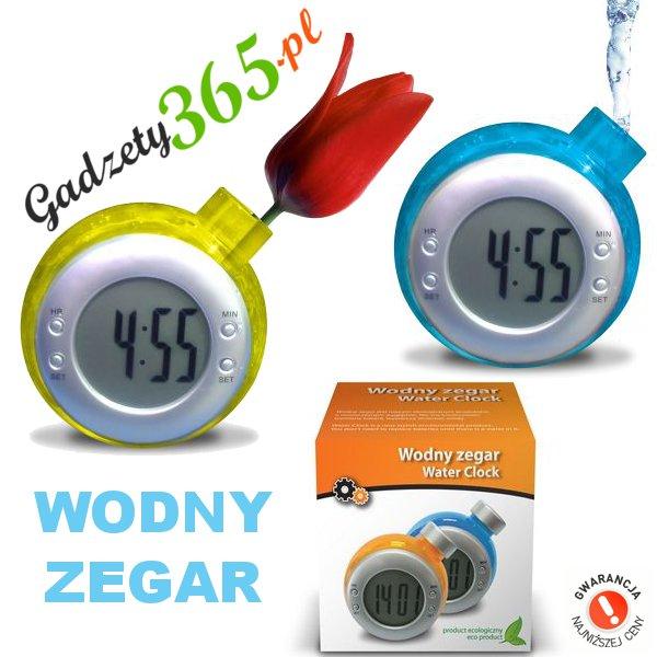 Wodny Zegar - ekologiczny zegarek na wodę