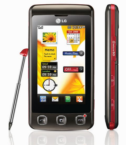 telefon lg kp500 lub kp501