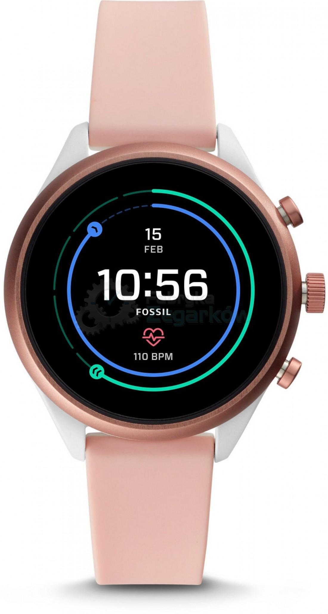 Sportowy smartwatch od Fossil (lub inny)