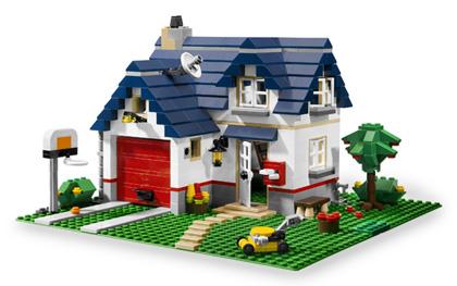 Miły domek rodzinny
