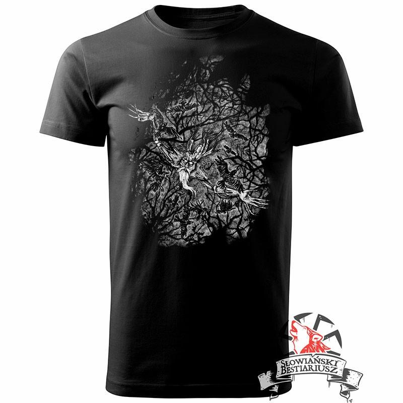 Koszulka Leszy - Męska, Czarna   M