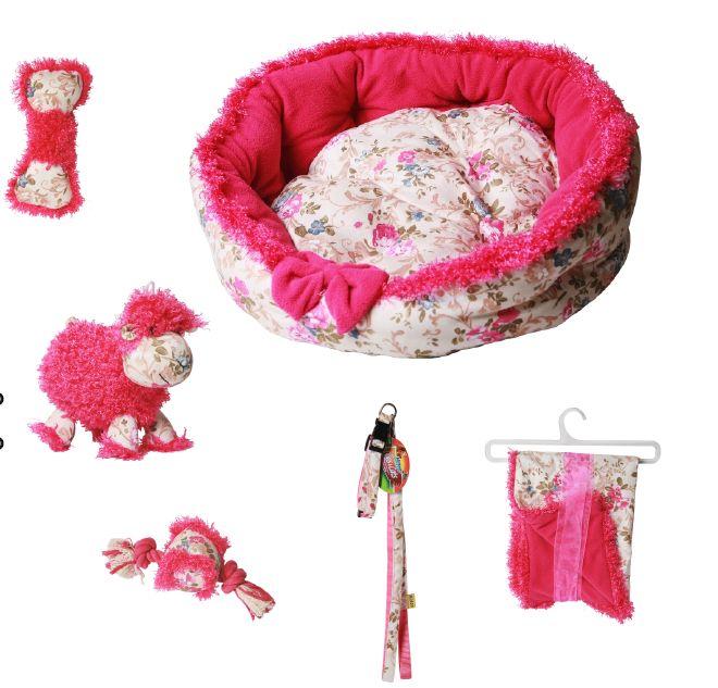 Zestaw dla małych psów. 2 kolory! ~Różowy i niebieski~