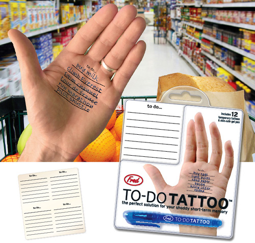 To-do Tattoos - popisz się !
