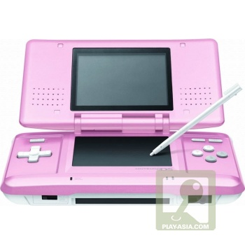 nintendo ds candy pink;)