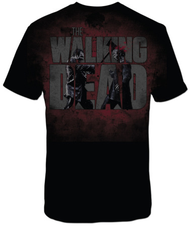The Walking Dead - Axed Zombie T-shirt