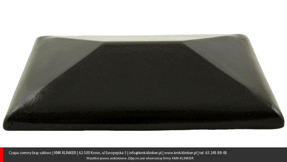 Czarna czapa ogrodzeniowa
