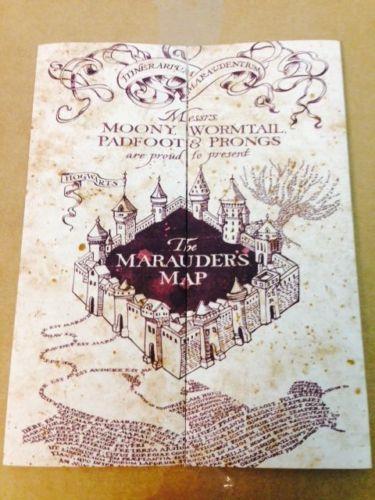 Marauder's Map Hogwarts