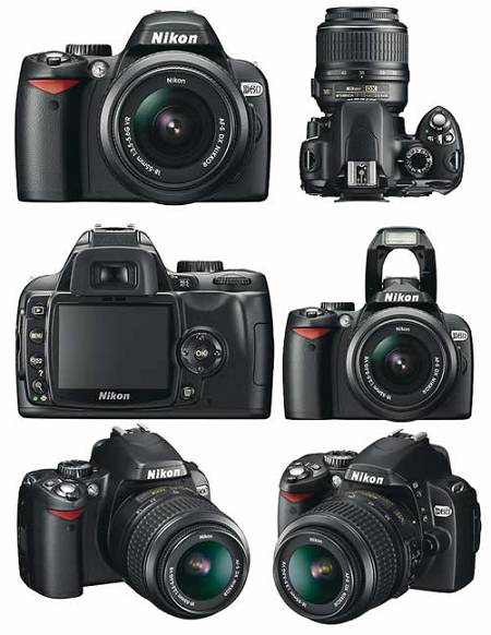Aparat (lustrzanka) Nikon d60