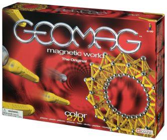 GeoMag Color - klocki magnetyczne 270 elementowe