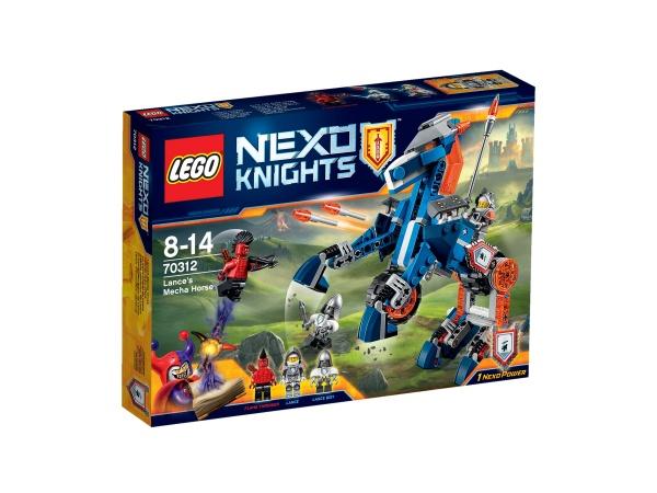 Lego nexo knights mechaniczny koń lancea
